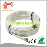 16 Years Cable Factory OEM rg6 f connector twist on Cable