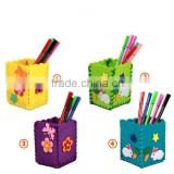 Factory direct sell DIY creative cloth pen case toys for newborn kids