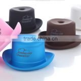 Portable USB cowboy hat Mini humidifier outlet aromatherapy spray machine Household water bottle cap humidifier