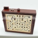2016 the most popular wooden labyrinth ,Personality labyrinth model ,ball game set,BSCI. EN71