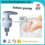 Hot sale custom 28 410 high quality left right lock cleaning lotion pump head for bottle