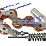 Silver , Escalator handrail support chain for OTI