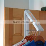 Collapsible Wall Hanger Laundry Room Organizer Wall Mounted Collapsible Hanger Expandable cloth hanger