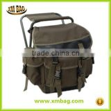 fishing tackle seat bag, rusksack camping stool seat box tackle box bag