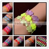 Trends in Italy : Friend lace bracelet Handmade Rivet Friendship Bracelets The New                                                                         Quality Choice