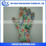 2014 Brand new acrylic/cotton/polyester/blended safety gloves,plush glove