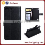 Flip wallet leather back cover case for lenovo vibe x2 stand display