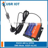 USR-GPRS232-730 Serial GPRS Server Serial GPRS DTU RS232/RS485 to GSM Server