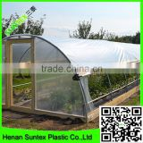 high density polyethylene raw material clear plastic greenhouse film for garden cultivation
