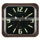 analog household noctilucent dial wall clock
