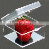 Transparent plastic box storage box square specimen collection box storage box ZYD-LJ006