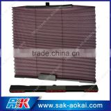 High quality pleated car curtain elastic window sunshade
