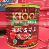 2016READY SELLER!!18-20% 22-24% 28-30% easy open 1000g tomato paste in tinned from factory