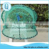 Wholesale fixed metal frame folding green oval opera house crab trap