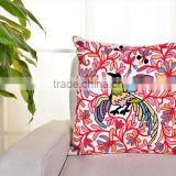 Pattern towel embroidered 100%cotton canvas cushion covers, pillow covers, ready for sell