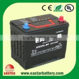 JIS Standard 12v 70ah Car battery 80D26L hybrid car battery