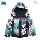 (F4505) 2-6y waterproof baby jackets branded nova children clothing ski coats baby wear winter climbing wear