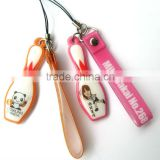 Wholesale new design cell phone accessories/ wrist strap/ cell phone hanging accessories