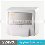 hands free jet air hand dryer, automatic hand blower, infared sensored hand dryer machine