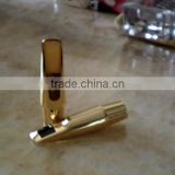 New model gold lacquer Alto saxophone brass mouthpiece