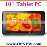 OEM 10 inch Octa core Allwinner A33 tablet pc Bluetooth Wifi 3G Wholesale tablet pc from Opnew