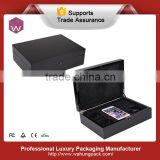 Lacquer Finish Iphone Box Manufacturer China/Luxurious Black Wood Phone Box Gift