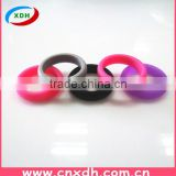 Safe and durable silicone wedding/engament band ring for women