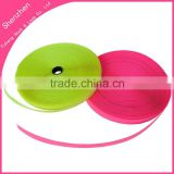 Colorful sew on hook and loop fasten tape