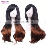 Fashion Women Cosplay Color Gradient Design Long Synthetic Wig                                                                         Quality Choice