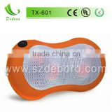 2013 New Designed Electric Kneading Portable DC Car Infrared Heated Neck Massage Pillow TX-601 (CE, UL)