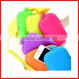 China top popular silicone comestic bag&magic silicone smart wallet with competitive price