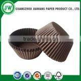 Glassine greaseproof cupcake liners/brown cupcake liners/muffin cases wholesale cupcake papers