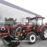 2016 Hot selling TZ-10 Euro quick hitch type Front loader for 100HP tractor with CE certificate
