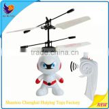 New Year Gift 2016 Infrared Induction Flying Astronaut Toy HY-830A Yiwu Toys Market Flying Spaceman Educational Toys For Kids