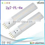 warm white pure white cool white 2g7 lamp led 2g7 base 8w led tube tube for indoor using