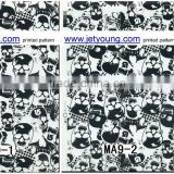 Hydro Graphic Skull Pattern Film printed Film water transfer film PVA printing film Jetyoung