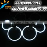 Full circle 95mm& 125mm ccfl angel eyes ring 9-16V DC halo kit headlight replacement for F ord