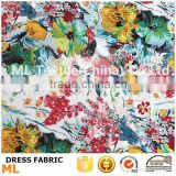 digital printing t shirts fabrics flower printing MOQ 1 meter for digital printing sweater