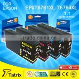Hot Selling Products T6761XL Series for Epson T6761XL T6762XL T6763XL T6764XL Deskjet Cartridge