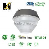 LED car parking led light,ETL and DLC led surface light.LED canopy DLC rebate lighting fixture