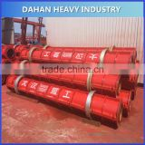 Reinforced Centrifugal Concrete well pipe machine for water drainage and agricultural irrigation
