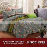 Vintage Floral Duvet Quilt Cover Bed Set Bedroom Bedding Single Double King