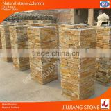 natural stone fence concrete column molds