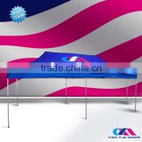 10x10 trade show promotion outdoor canopy tent for event, custom portable advertising canopy