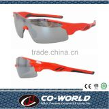 Popular models Half-frame lenses, comfortable nose pad adjustment formula, sporty sunglasses