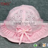 Good Quality Bucket Hat Kids Boy and Girl 1-4 Y, Children Toddler Sun Hat with Chin Strap