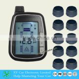 Automatic wireless leak alarm truck tire pressure monitor system with 10 sensor XY-TPMS610E