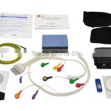 12-lead ECG data Holter Stress Test System Analysis Software Wireless for Cardiac Stress Exercise