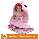 Cartoon Animal Style Hooded Baby Towel 0-6 years Bamboo Baby Hooded Bath Towel