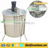 304 stainless steel and factory source 6 frame electric honey extractor